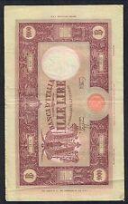 1000 lire grande M B.I, 22 09 1943 vittorio emanuele III° raro Q.BB LOTTO 1698