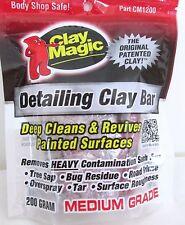 CLAY MAGIC® RED by AUTO MAGIC, DETAILING CLAY BAR, MEDIUM GRADE, 200 gram bar