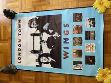 Paul McCartney/Wings Color 1978 Poster