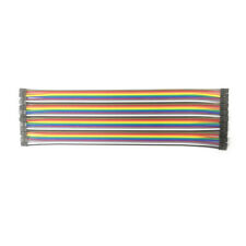 20pcs in Row 40P Dupont Cable 20cm 2mm pitch 2P to 2P female wire for Arduino