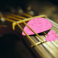 20 piezas de Plectro Elegante 0.71mm de guitarra Mediadores de celuloide pa Y3Q4