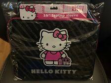 "New Hello Kitty 16"" Zippered Laptop Sleeve"