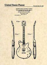 BP0256 es335 Thinline Hollowbody Guitar Blueprint Plan