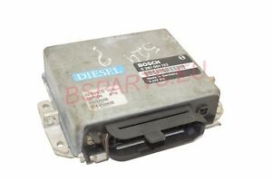 Used E BMW E34 524td M21 Control Unit Injection Start DDE ECU  0 281 001 122
