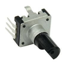 2Pcs codificador rotatorio con Interruptor EC12 Audio Digital Potenciómetro 15mm Manija Ck