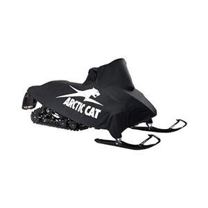 "Arctic Cat 8639-001 Black White Mach Canvas Cover 128""-137"" 2012-2019 F 800"