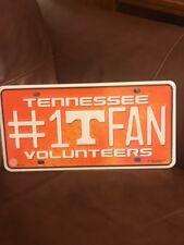 Tennessee Volunteers #1 Fan Metal Tag License Plate MTF180101 University of Tn