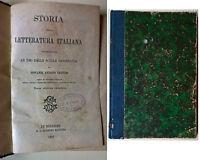 Storia della letteratura italiana - Giovanni A. Venturi - 1897, G. C. Sansoni -L