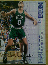 Eric Montross Boston Celtics NBA Trading Card 194/95 Gold Signature