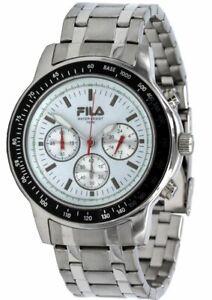 Fila Watch Cortina FA0783-25 Quarzchronograph Edelstahluhrband 10 ATM Ø 47 mm