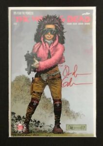 The Walking Dead #171: Fear The Princess Signed Gaudiano w/ COA 1st App Princess