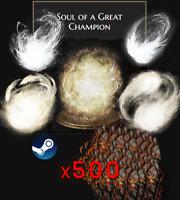Dark Souls 3 PC Steam - 2.9 Billion Souls | Souls + Rings Pack | Great Champion
