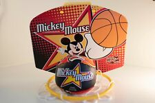 Disney Mickey Mouse Over-The-Door Basketball Hoop Set - Net and Ball