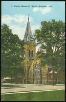Vintage Unused Postcard of Parker Memorial Church, Anniston, Alabama