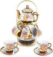 DaGiBayCn 20 Piece European Ceramic Tea Set Coffee set Porcelain Tea SetWith tea