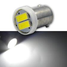 1pc BAX9S 64132 H6W 2 SMD 7020 LED parking lamp Light Bulb White DC 24V 6000K