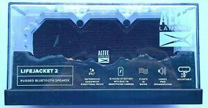 Altec Lansing IMW577 Life Jacket 2 Bluetooth Waterproof Speaker - 16 hrs battery