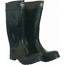 Boss Slush Boots PVC Over the Sock Knee Boots Size 10 6972