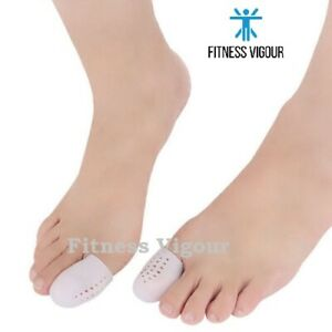 2 Gel Big Toe Protector Cover Caps Prevent Blisters Relief Pain UK FREE DELIVERY