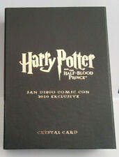Harry Potter Half Blood Prince Comic Con Crystal Card SDCC10 CC03 Hermione #9/80