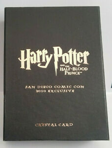Harry Potter Half Blood Prince Comic Con Crystal Card SDCC10 CC03 Hermione 37/80