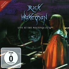 RICK WAKEMAN - LIVE AT THE MALTINGS 1976 (NEW CD)