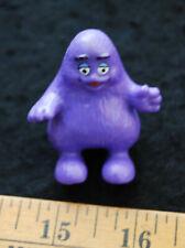 [ 1990s McDonald's Toy Figure - Grimace - Vintage Restaurant Mascot PVC]