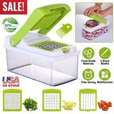Vegetable Chopper Food Onion Cutter Set Veggie Slicer Dicer Fruit hand Kitchen