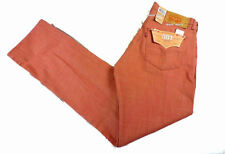 $70 Mens LEVIS Classic 501 SHRINK TO FIT 31 x 31 Coral Pink RIGID oak cone