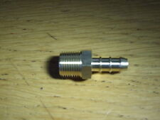 LPG 3/8 BSP male Fulham nozzle to 8mm ID Gas hose.