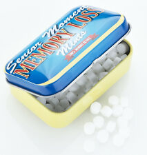 SENIOR MOMENT MEMORY LOSS Mints Fun In a tin Sugar free travel gift BN sealed