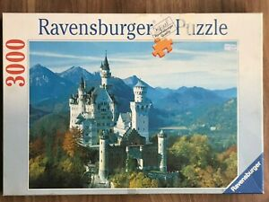 Ravensburger Jigsaw Puzzle 3000 Pieces  NEUSCHWANSTEIN CASTLE IN THE AUTUMN