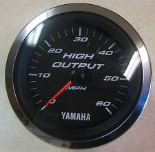 Beede Yamaha Boat Gauge Electronic Speedometer 60 MPH High Output Model 946829