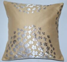 "16"" New Laura Ashley 'Coco' Gold fabric cushion cover"