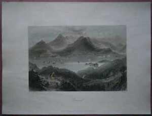 1842 Bartlett print GLENGARRIFF, IRELAND (#4)