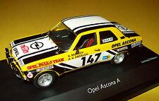 Opel Ascona A Rallye Rally #147 Schuco 1/43 Frohlich Miersch New Base Cover