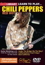 LEARN TO PLAY RED HOT CHILI PEPPERS LICK LIBRARY DVD !
