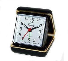 Equity 20080 Quartz Folding Travel Alarm Clock