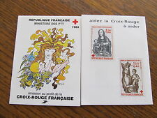carnet croix rouge1983  neuf