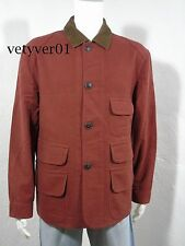 New PENDLETON 50s Brownsville Moleskin Hunting/Field/Barn Coat/Jacket Red sz XXL