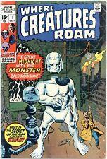 Where Creatures Roam #2 VG