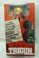 TRIGUN ACTION FIGURE VASH THE STAMPEDE 12in 1998 RED COAT MIB NEW IN BOX TOY d