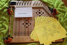 Wiener Lieder Akkordzither Unterlegnoten 10 Stück
