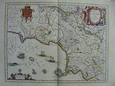 MAPPA CAMPANIA FELIX NAPOLI 1640 CASERTA CAPUA AVERSA GAETA TERRACINA ISCHIA