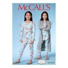 McCall's SEWING PATTERN -  Girls Robe Top Pants 10 TO 16 - M7499-GIRLSPLUS