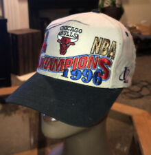 1996 Chicago Bulls NBA Championship Snapback Locker Room Hat Logo 7 Free Ship!!