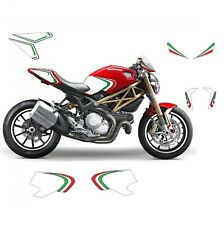 Kit adesivi grafica tricolore - Ducati Monster 696 / 796 / 1100 anno 2008 - 2014
