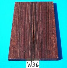 1 PAIR KNIFE SCALES CAMATILLO ROSEWOOD~KNIFE HANDLE~KNIFE GRIPS~EXOTIC WOOD