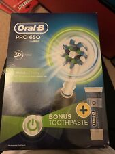 Oral B Pro 650 Electric Toothbrush Rechargeable