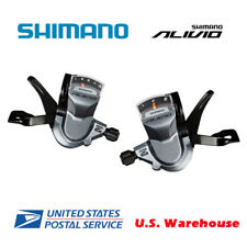Shimano Alivio SL-M4000 Rapid Fire Plus 3x9Speed Shifters Set W/Cable USPS